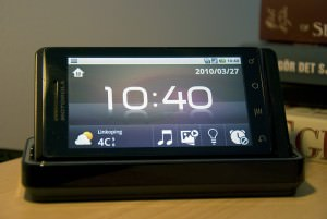 Motorola Milestone multimedia station