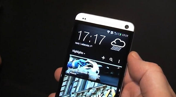Första hands on-videon med HTC One, specifikationerna bekräftade?