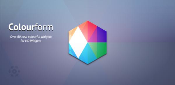 Colourform – nytt tjusigt tema för HD Widgets