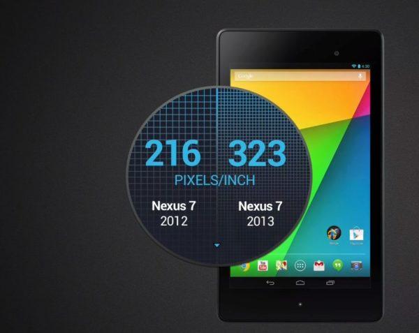 Google presenterar nya Nexus 7 – den mest pixeltäta plattan hittills