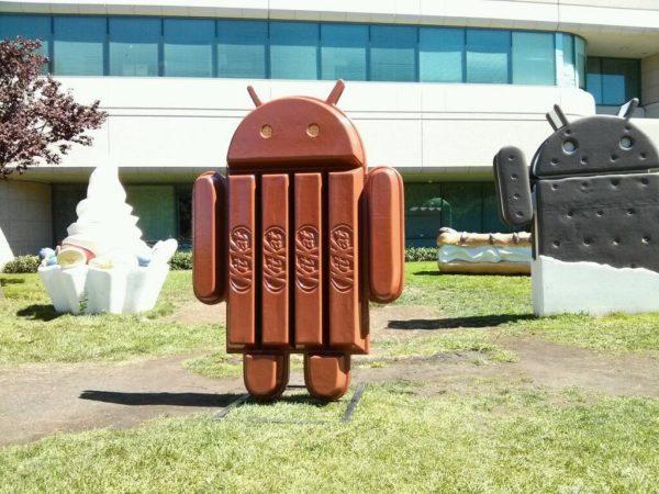Anledningen till att Android 4.4 heter KitKat