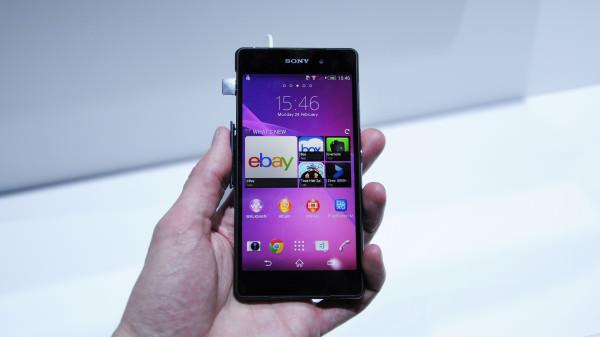 En första titt på Sony Xperia Z2