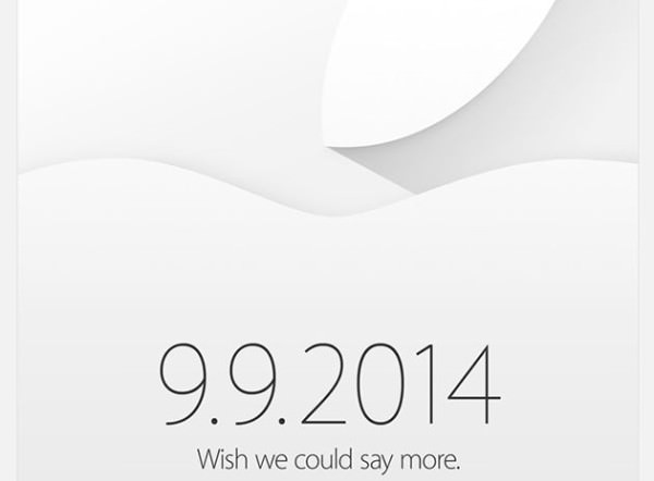 Apple presenterar nyheter 9:e september