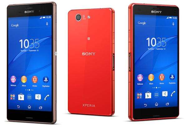 Sony Xperia Z3 och Z3 Compact använder nano-SIM