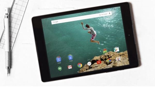 En första titt på Googles senaste surfplatta Nexus 9