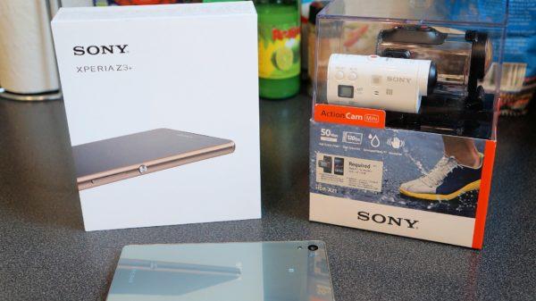 En första titt på Sonys nya flaggskepp Xperia Z3+