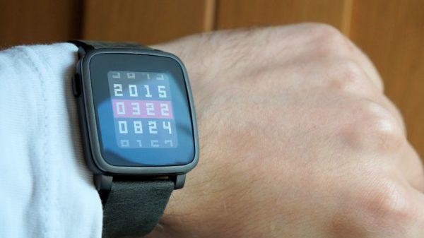 Test av uthålliga smartklockan Pebble Time Steel