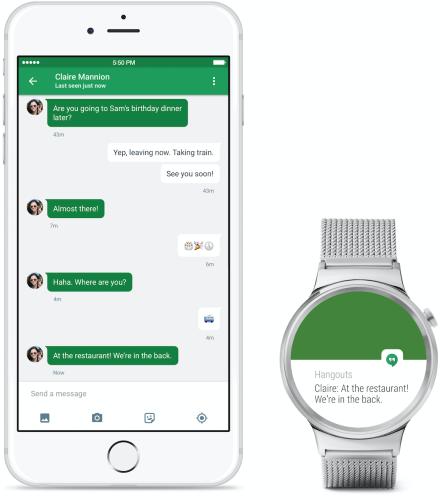 Nu fungerar Android Wear-klockor tillsammans med Iphones
