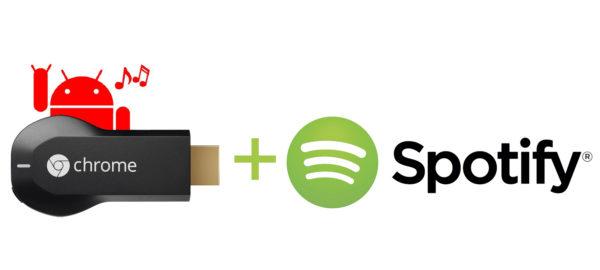 Arbetar Spotify med att introducera Chromecast-stöd?