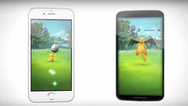 Video visar Nintendos mobilspel Pokémon GO