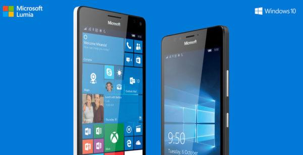 Microsoft lanserar Lumia 550 och vätskekylda Lumia 950, 950 XL