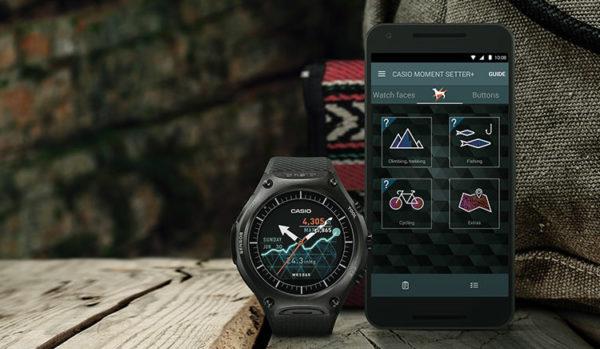Casio presenterar Android Wear-klockan WSD-F10 med utomhusaktiviteter i fokus