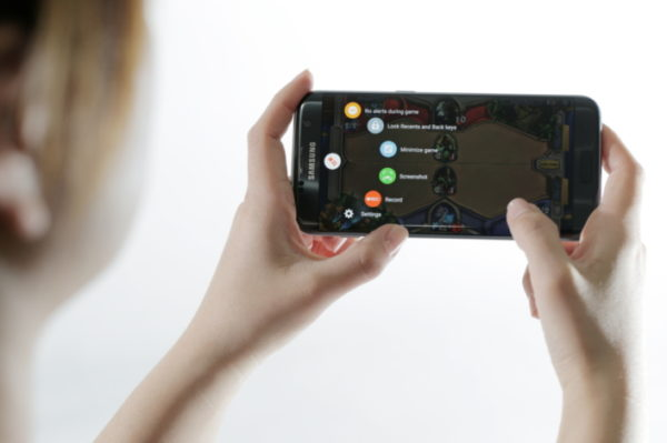 Samsung stoltserar med kraftfulla spelegenskaper för Galaxy S7