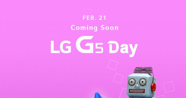 LG bekräftar att G5 introduceras 21:a februari