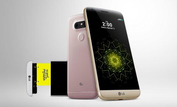 LG introducerar flaggskeppet G5 i Barcelona, stödjer moduler