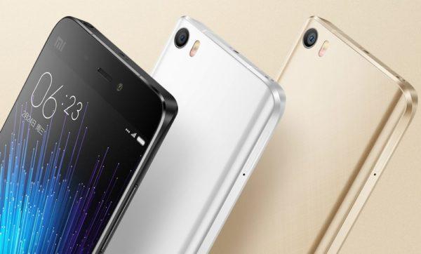 Xiaomi offentliggör flaggskeppet Mi 5