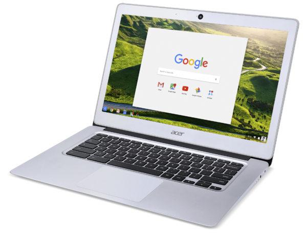 Acer Chromebook 14 har aluminiumchassi, lång batteritid