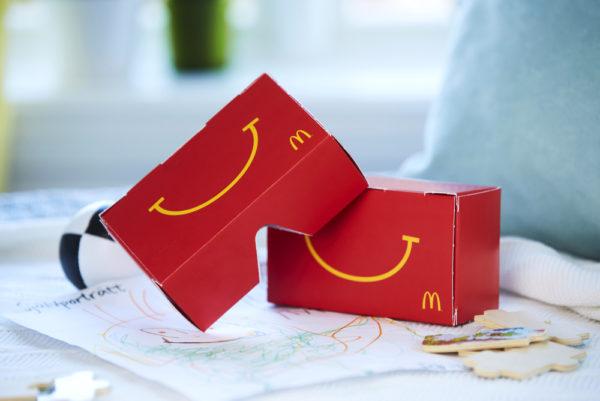 Svenska McDonalds skapar Happy Meal som kan förvandlas till VR-headset