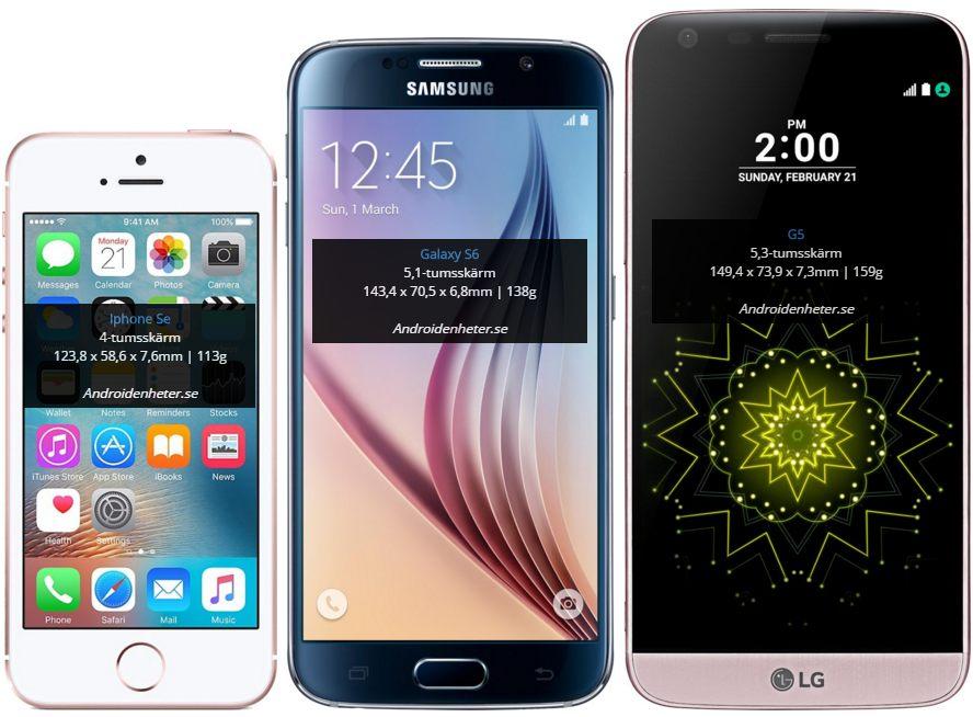 iphone 7 s pris