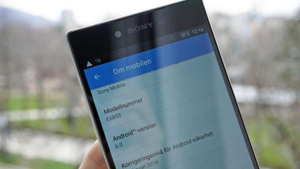 Sony Xperia Z5-serien uppdateras till Android 6.0 Marshmallow i Sverige