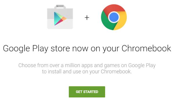 Chromebooks kan snart få full tillgång till Play Store