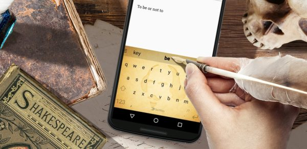 SwiftKey släpper ShakeSpeak – låter dig skriva som Shakespeare