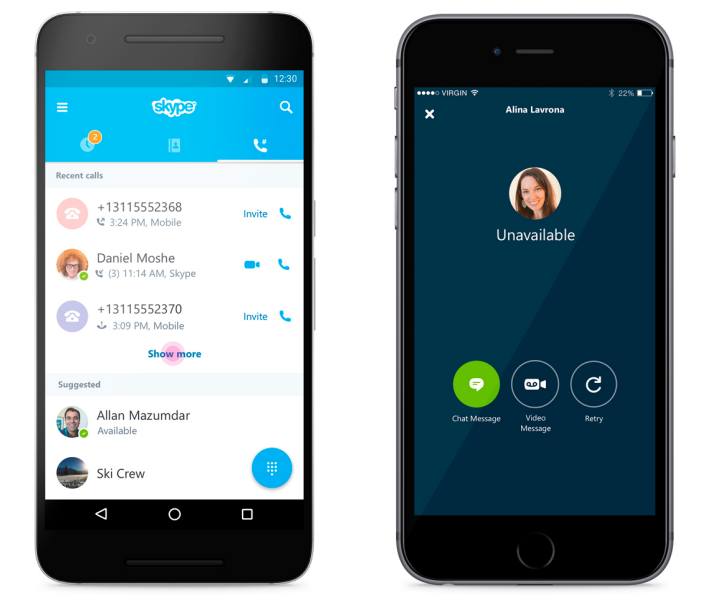 how to change skype username on android