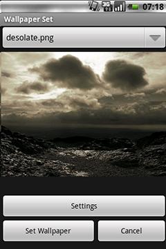 WSS - Sätt bakgrundsbild