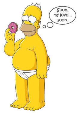 Android Donut - Homer