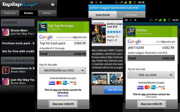 Android-utvecklare kan nu ta betalt direkt ifrån sina appar