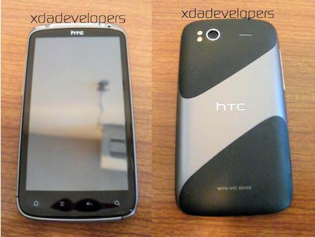 HTC Pyramid, bilder från XDA