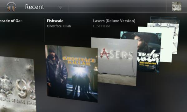Androids nya musikspelare