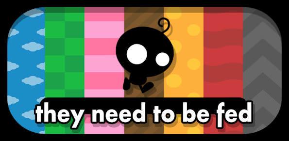 They Need To Be Fed - ett gravitationsbaserat pusselspel från YoYo Games [Speltips]