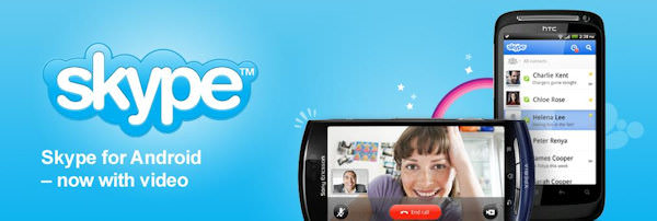 Skype 2.0 finns nu i Market med stöd för videosamtal