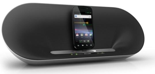 Philips presenterar dockningshögtalare för Android-telefoner - Swedroid bf3324b100940