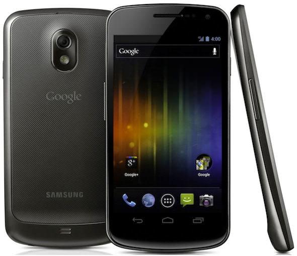 Samsung Galaxy Nexus, promobild