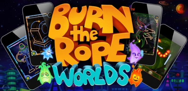 Burn the Rope Worlds finns nu i Market [Notis]
