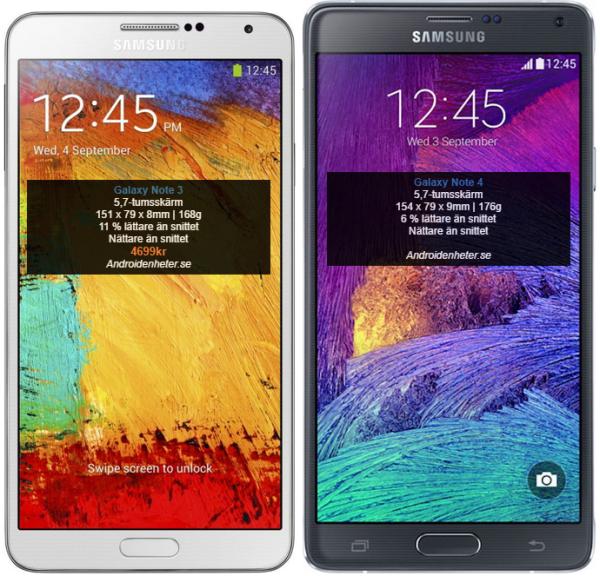 samsung-galaxy-note-3-vs-samsung-galaxy-note-4