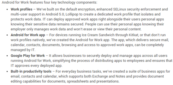 android-for-work-funktioner