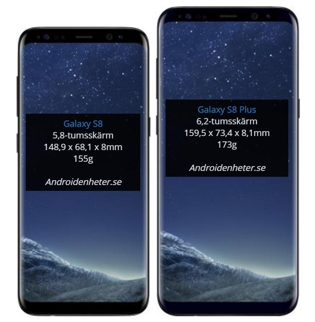 Samsung galaxy iphone skillnad funktion