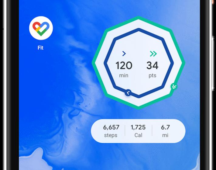 Google Fit får widget som visar aktuell motionsstatus