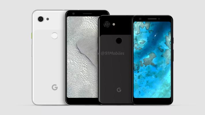 Ryktesbilder på Google Pixel 3 Lite och Pixel 3 Lite XL