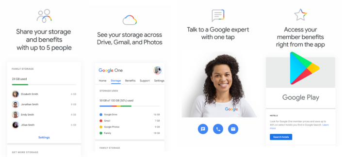 Google One launches shortly in Sweden – upgraded storage and