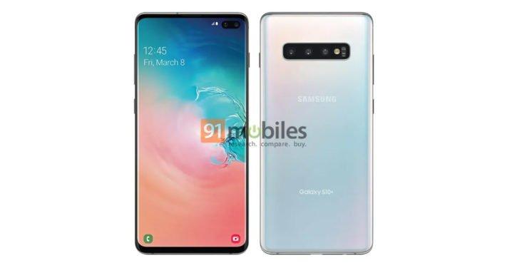 Ny bild på vad som påstås vara Samsung Galaxy S10 Plus läcker ut ... d4b5a05ed032b