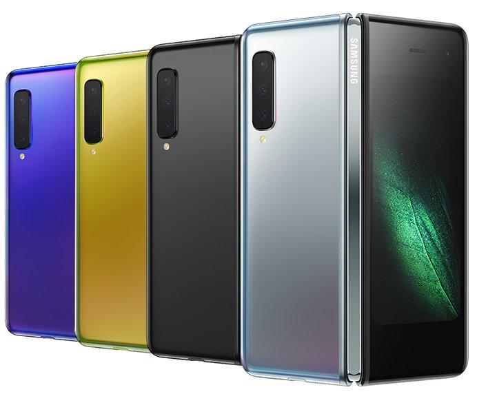Hands-on-videor med vikbara Samsung Galaxy Fold
