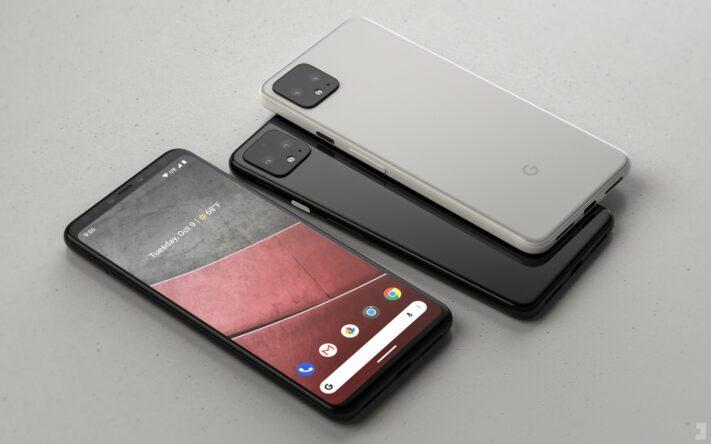 Fotografi och konceptbild på Google Pixel 4