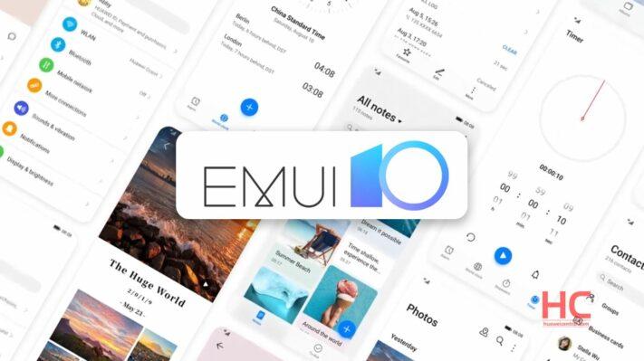 Huaweis nya gränssnitt EMUI 11 landar under Q3