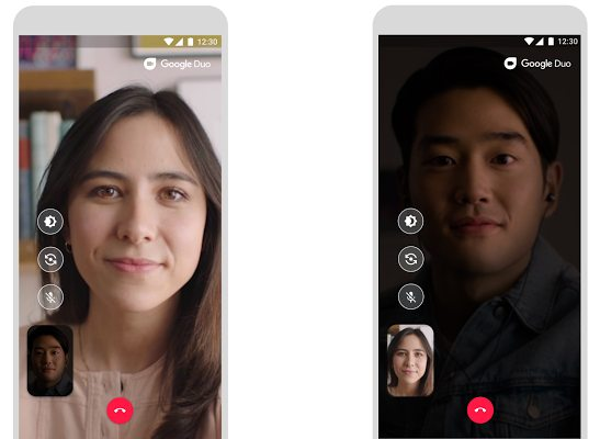 Google Duo får ett mörkerläge som förbättrar bildkvaliteten i dunkel