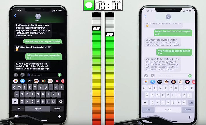Så här mycket tjänade en Iphone Xs på att ha mörkt tema i batteri-test