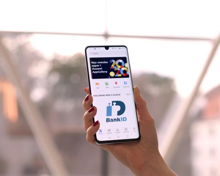 BankID kommer släppas för Huaweis app-butik